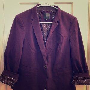 The Limited purple blazer size Large